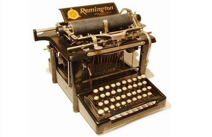 """Картинки по запросу """"1873 - Ремингтон начал производство первой пишущей машинки."""""""
