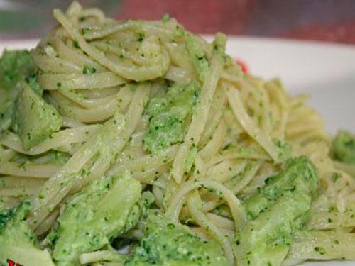 Сливочная паста с брокколи